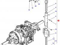 Раскос навески трактора Challenger — 4282587M91