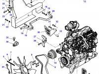 Крыльчатка (вентилятор) радиатора трактор Challenger — 4282823M1