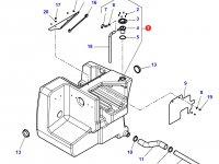 Дополнительный топливный бак трактора Challenger (№41) — 4284238M93