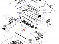 Вентилятор печки отопителя кондиционера кабины трактора Challenger — 4284951M1