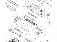Вентилятор печки отопителя кондиционера кабины трактор Massey Ferguson — 4284951M2