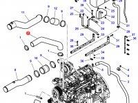 Патрубок охлаждения двигателя трактора Challenger — 4284991M1