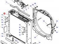 Радиатор двигателя трактора Challenger — 4285470M3