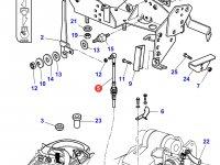Трос управления ВОМ трактора Massey Ferguson — 4285762M1