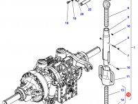Вилка раскоса навески трактора Massey Ferguson (2 вариации) — 4285812M91