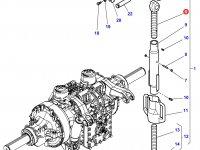 Шарнирная головка/винт раскоса навески трактора Challenger — 4285815M1