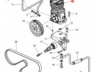 Воздушный компрессор трактора Challenger — 4286085M2