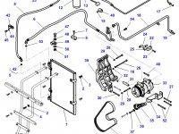 Ремень компрессора кондиционера трактора Challenger — 4286263M1