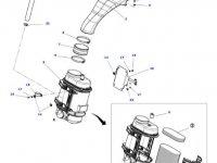 Воздушный фильтр двигателя трактора Massey Ferguson — 4286479M2