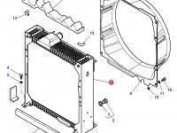 Радиатор двигателя трактора Challenger — 4286559M4