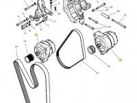 Генератор двигателя трактора Massey Ferguson — 4287014M4