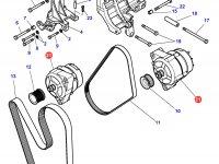 Генератор трактора Challenger — 4287014M4