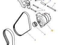 Генератор двигателя трактора Massey Ferguson — 4287015M2