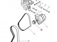 Шкив (ролик) ремня генератора трактора Challenger — 4287017M1