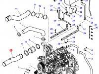 Патрубок охлаждения двигателя трактора Challenger — 4287761M4