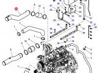 Патрубок охлаждения двигателя трактора Challenger — 4287762M2