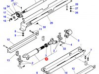Карданный вал привода переднего моста трактора Massey Ferguson — 4287995M92