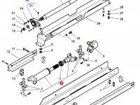 Карданный вал привода переднего моста трактора Challenger — 4287995M92
