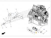 Стартер двигателя трактора Massey Ferguson — 4288991M4