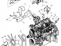 Стартер трактора Challenger — 4288991M4
