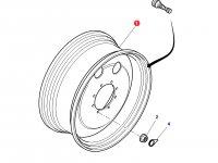 Передний колесный диск трактора Massey Ferguson (W12x28, полный привод) — 4293195M91