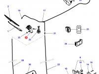 Моторчик щетки стеклоочистителя трактора Challenger — 4294850M1