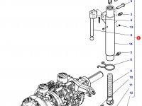 Центральный винт задней навески трактора Challenger (672/956 мм) — 4295829M91