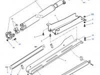 Карданный вал привода переднего моста трактора Massey Ferguson — 4297163M92