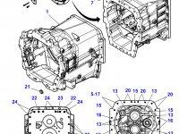 Картер КПП трактора Massey Ferguson — 4300109M17
