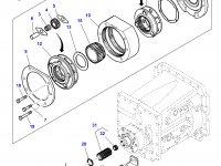 Эпициклическая понижающая передача КПП трактора Challenger — 4300321M12
