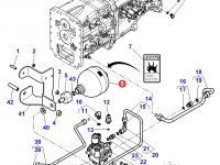 Гидроаккумулятор сцепления трактора Massey Ferguson — 4300394M3