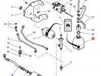 Гидроаккумулятор сухого сцепления трактор Challenger — 4300394M3