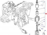 Раскос навески трактора Challenger — 4300417M91