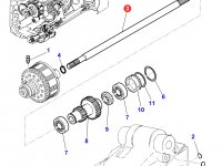 Вал отбора мощности (ВОМ) трактора Massey Ferguson — 4300907M1