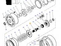 Вал мультипликатора КПП трактора Massey Ferguson — 4300913M3