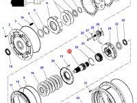 Вал мультипликатора КПП трактор Challenger — 4300913M3