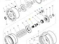 Вал мультипликатора КПП трактора Massey Ferguson — 4300914M3
