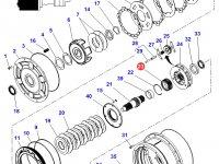 Шестерня мультипликатора КПП трактора Massey Ferguson — 4301124M2
