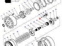 Шестерня мультипликатора КПП трактора Challenger (32 зуба) — 4301124M2