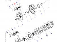 Шестерня мультипликатора КПП трактора Challenger (47 зубьев) — 4301260M2