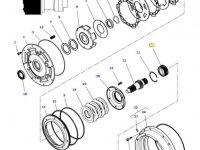Шестерня мультипликатора КПП трактора Massey Ferguson — 4301263M1