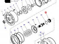 Шестерня мультипликатора КПП трактора Challenger (28 зубьев) — 4301263M1