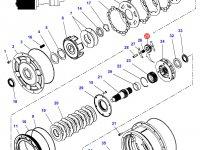 Шестерня мультипликатора КПП трактора Challenger — 4301321M3