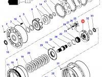 Планетарная передача мультипликатора КПП трактора Massey Ferguson — 4301322M4