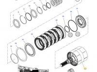 Вал двойного сцепления КПП трактора Massey Ferguson — 4301419M93
