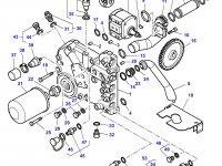 Насос гидравлический трактора Massey Ferguson — 4301819M1