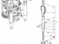 Вилка раскоса навески трактора Challenger — 4302102M91