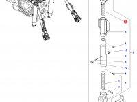 Шарнирная головка/винт раскоса навески трактора Challenger — 4302108M91