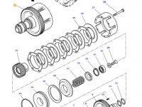 Муфта включения вала отбора мощности (ВОМ) трактора Massey Ferguson — 4302133M18