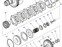 Муфта включения вала отбора мощности (ВОМ) трактор Challenger — 4302134M17